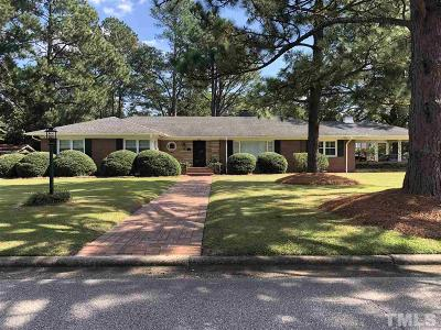 Harnett County Single Family Home For Sale: 800 N General Lee Avenue