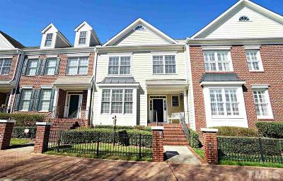 Raleigh Townhouse Contingent: 2419 St Pauls Square