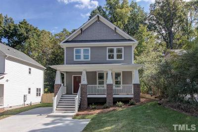 Durham Single Family Home Contingent: 1724 N Roxboro Street