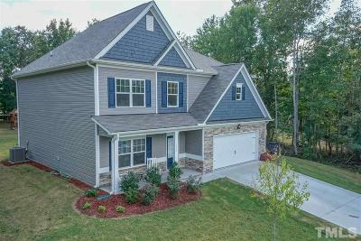 Louisburg Single Family Home Pending: 115 Post Oak Drive