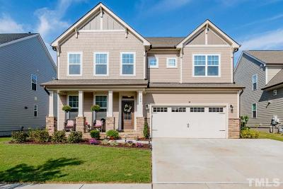 Holly Springs Single Family Home Contingent: 156 Martingale Drive