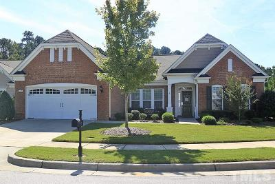 Cary Single Family Home Contingent: 249 Beckingham Loop