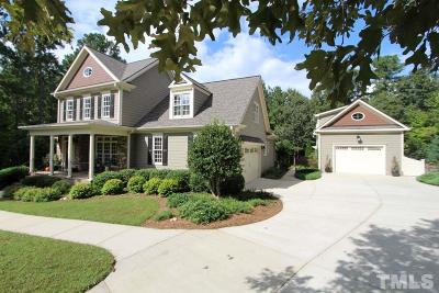 Wake Forest Single Family Home Contingent: 3565 Overlook Court