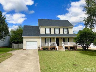 Holly Springs Single Family Home Contingent: 252 Springside Drive