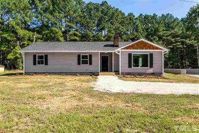 Knightdale Single Family Home Contingent: 2300 Horton Road