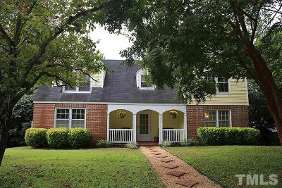 Oxford Single Family Home For Sale: 302 Henderson Street