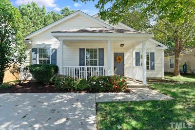 Apex Single Family Home Contingent: 105 Homestead Park Drive