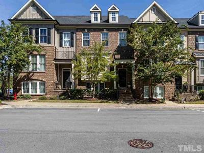 Apex Townhouse Contingent: 548 Old Mill Village Drive