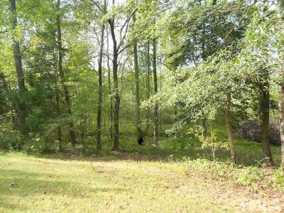 Chatham County Residential Lots & Land For Sale: Parker Herndon Road