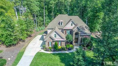 Raleigh Single Family Home For Sale: 1440 Tacketts Pond Drive