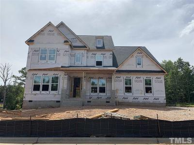 Holly Springs Single Family Home For Sale: 205 Silent Cove Lane #Lot 124