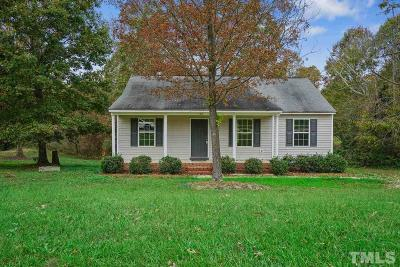 Zebulon Single Family Home Contingent: 116 Percheron Drive