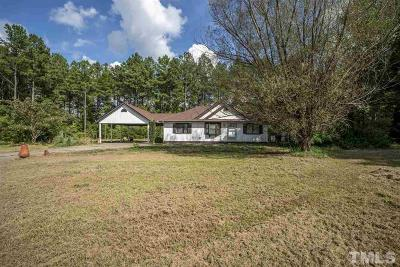 Franklinton Single Family Home Pending: 380 Mt Olivet Church Road