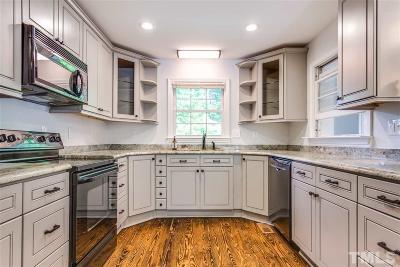 Wake County Single Family Home For Sale: 3606 Blue Ridge Road