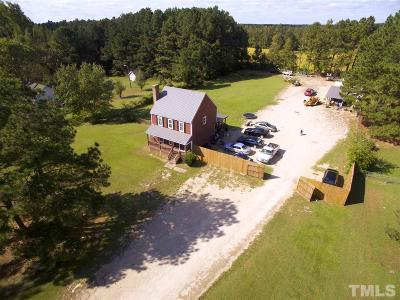 Wendell Single Family Home Pending: 149 Turnipseed Road