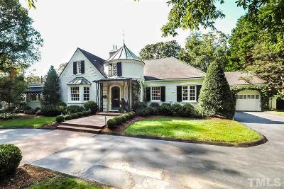 Raleigh Single Family Home For Sale: 1613 Oberlin Road