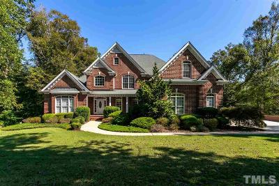 Johnston County Single Family Home Contingent: 534 Christopher Drive