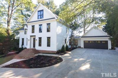 Wake County Single Family Home For Sale: 3066 Granville Drive