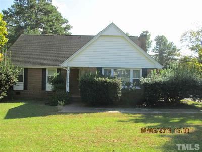 Lee County Single Family Home For Sale: 1609 Spring Lane