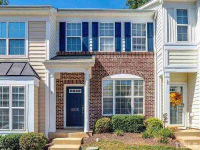 Raleigh Townhouse For Sale: 8215 City Loft Court
