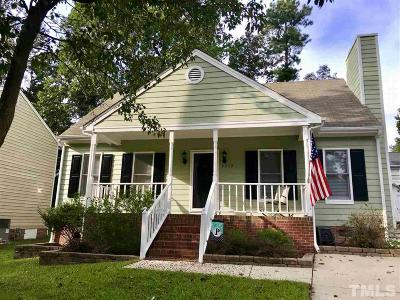 Raleigh Single Family Home Pending: 2349 Declaration Drive
