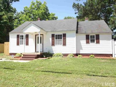 Spring Hope Single Family Home Contingent: 211 N Louisburg Road