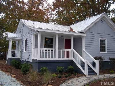 Hillsborough Single Family Home For Sale: 906 Benton Street