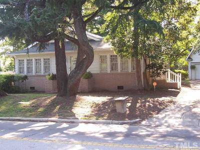 Raleigh Single Family Home For Sale: 1212 Garner Road