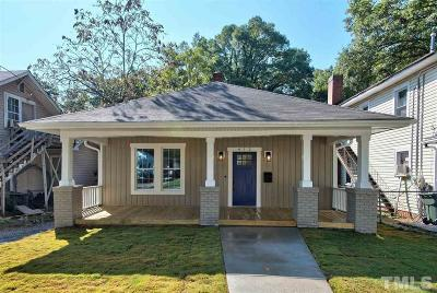 Durham Single Family Home For Sale: 412 E Geer Street