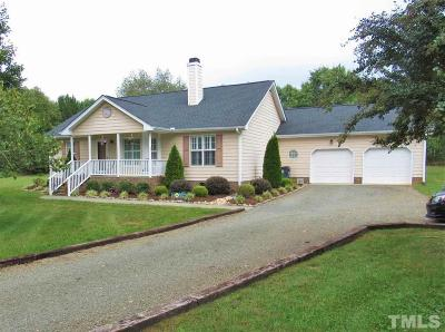 Franklinton Single Family Home Pending: 1700 Beech Creek Cove