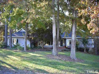 Apex Single Family Home For Sale: 3708 Friendship Road