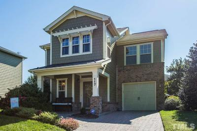 Cary Single Family Home Contingent: 117 Bright Sand Court