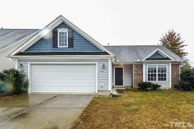 Fuquay Varina Single Family Home Contingent: 644 Cherry Plum Court