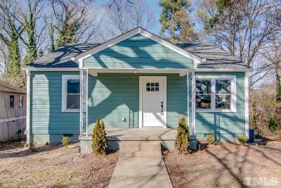 Durham Single Family Home For Sale: 611 Lee Street