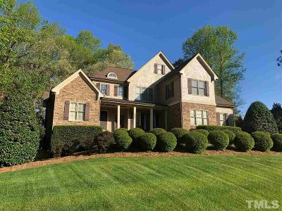 Raleigh Single Family Home For Sale: 3801 Westbury Lake Drive