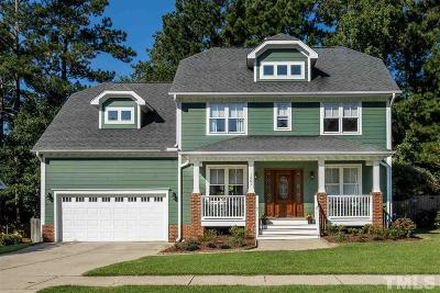 Apex Single Family Home Contingent: 1201 Applethorn Drive