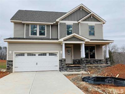 Holly Springs Single Family Home For Sale: 7168 Rex Road #Lot 233