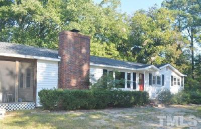 Harnett County Rental For Rent: 59 McRae Road