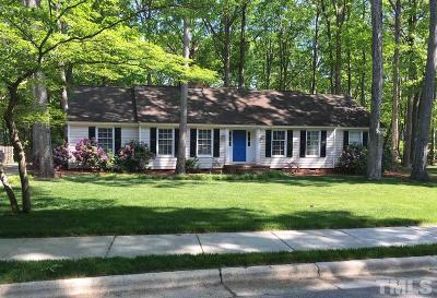 Cary Single Family Home For Sale: 100 Glasgow Road