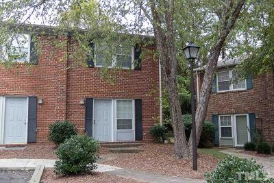 Carrboro Townhouse Pending: 115 Coleridge Court