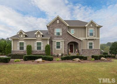 Wake Forest Single Family Home For Sale: 6409 Sunset Manor Drive