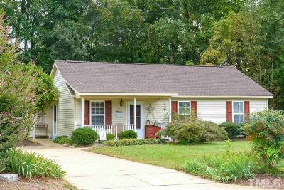 Holly Springs Single Family Home For Sale: 137 Holly Mountain Road