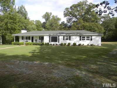 Sanford Single Family Home For Sale: 1031 Walter Bright Road