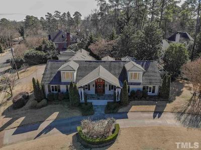 Wake County Single Family Home For Sale: 3368 Alamance Drive