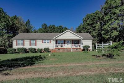 Louisburg Single Family Home For Sale: 219 Gowans Brodie Road