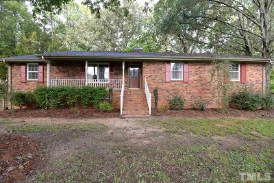 Clayton Single Family Home For Sale: 2025 Government Road