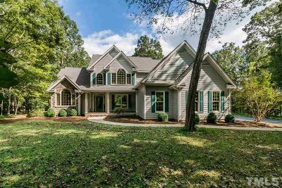 Pittsboro Single Family Home For Sale: 660 Revmont Drive