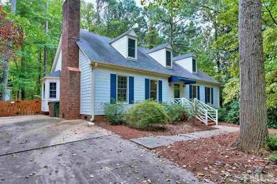 Cary Single Family Home Contingent: 203 Dutchess Drive
