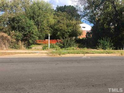 Raleigh Residential Lots & Land For Sale: 727 Martin Luther King Jr Boulevard