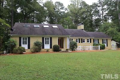 Raleigh Single Family Home For Sale: 4722 Brookhaven Drive